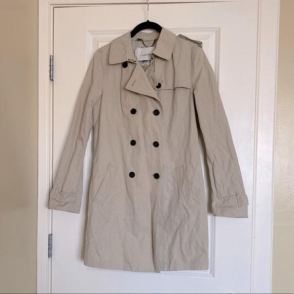T. Babaton- tan trench coat